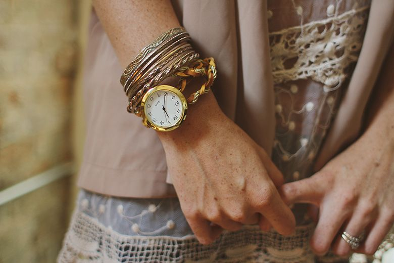 Diy Jewelry Watch Wrap Bracelet Easier Than It Looks Sincerelykinsey