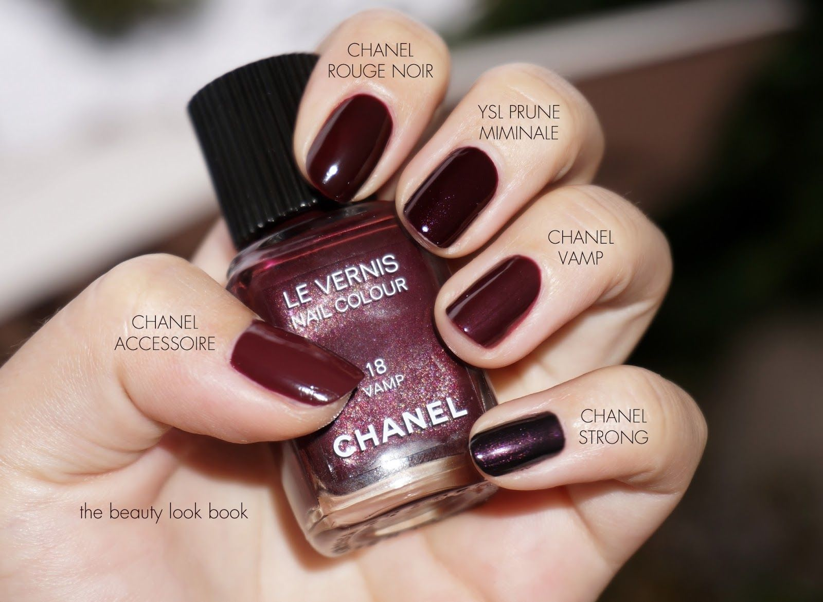 Comparisons - Vampy Nail polish...I MUST have them all!!   Cool ...