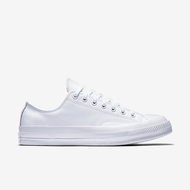 Converse Chuck Taylor All Star 70 Mono Leather Low Top 155455C 100 White White White