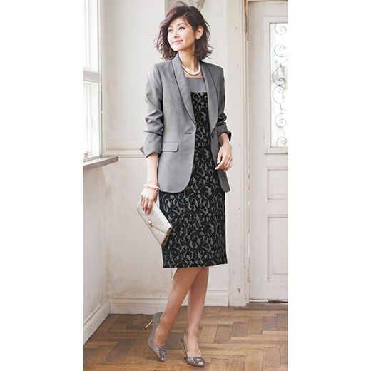 424079ed0f219 ボンディングレースワンピセットスーツ通販│ファッション通販RyuRyu