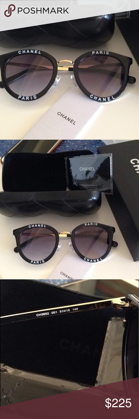 b2cea573bfcf Nwt Chanel sunglasses Brand new never used sunglasses with case and box  CHANEL Accessories Sunglasses