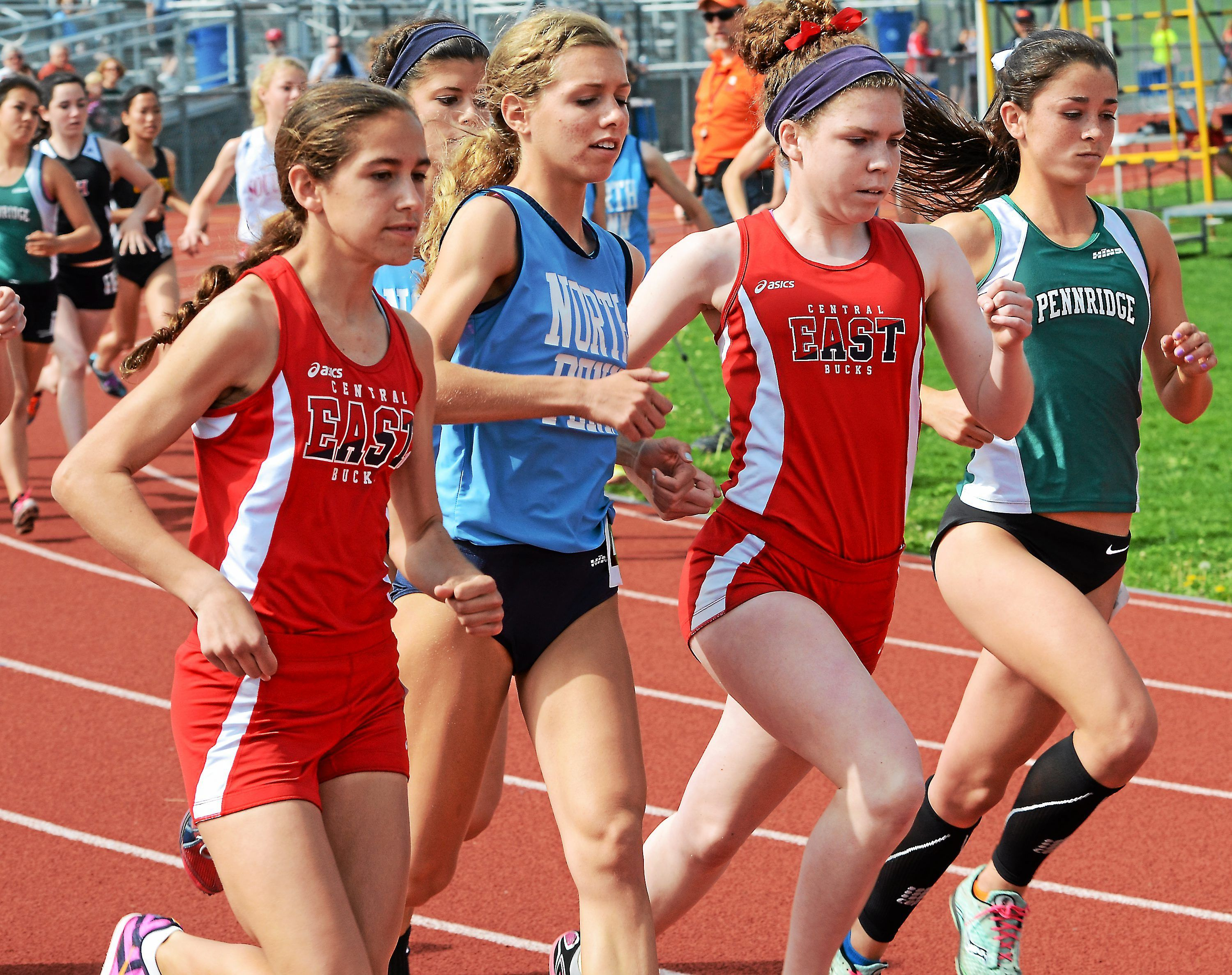 TRACK AND FIELD North Penn boys, CB East girls take 1st