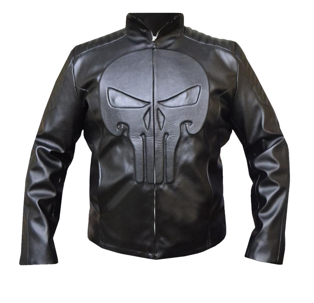 The Punisher Thomas Jane Frank Castle Leather Jacket Celebrity Jackets Leather Jacket Brown Leather Bomber Jacket [ 965 x 1000 Pixel ]