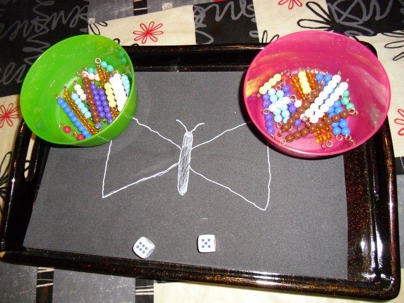 Trasteando en casa juego de la mariposa geniallllll