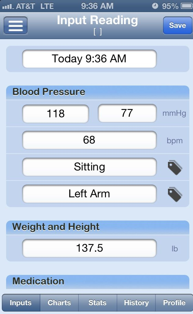 App Of The Week Bp Tracker Lite Easily Log And Graph Your Blood