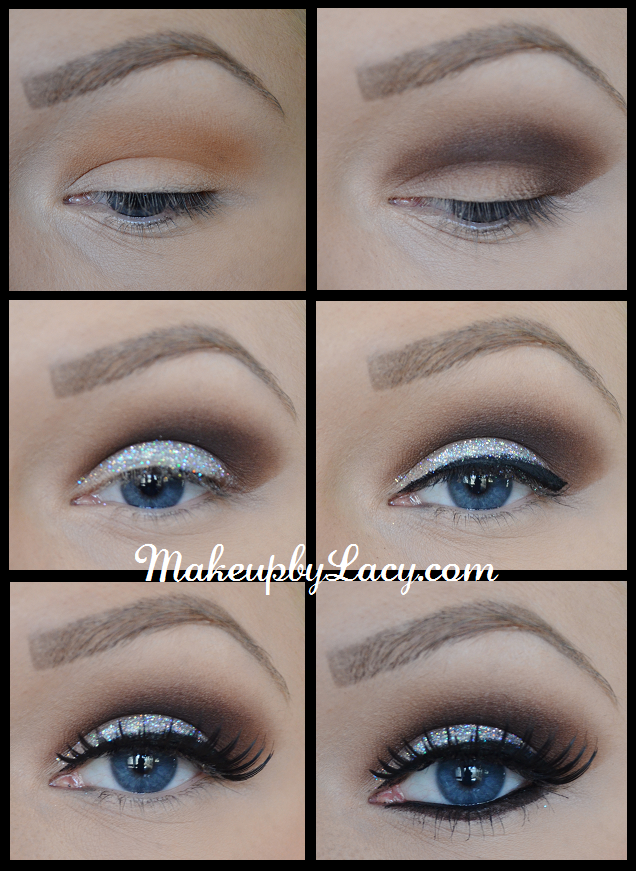 Glitter eyeshadow tutorial 1 use nyc bronzer in sunny as an glitter eyeshadow tutorial 1 use nyc bronzer in sunny as an eyeshadow 2 work ccuart Choice Image