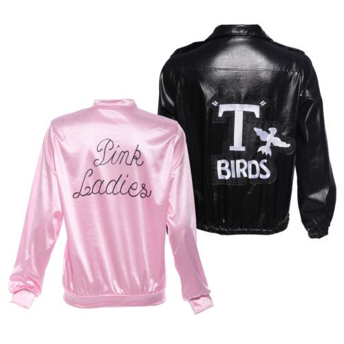50s 60s #t-bird #danny t bird / pink ladies #jacket costume hen stag do fancy dre,  View more on the LINK: 	http://www.zeppy.io/product/gb/2/381106723580/