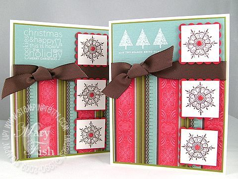 Stampin Up Cards Mary Fish