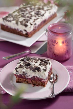 Schwarzwalder Kirschkuchen Vom Blech Rezept Kuchen