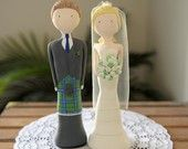 Cute little cake toppers