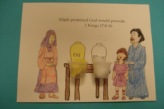 Children S Ministry Lesson Lesson 33 Elijah And The Woman In