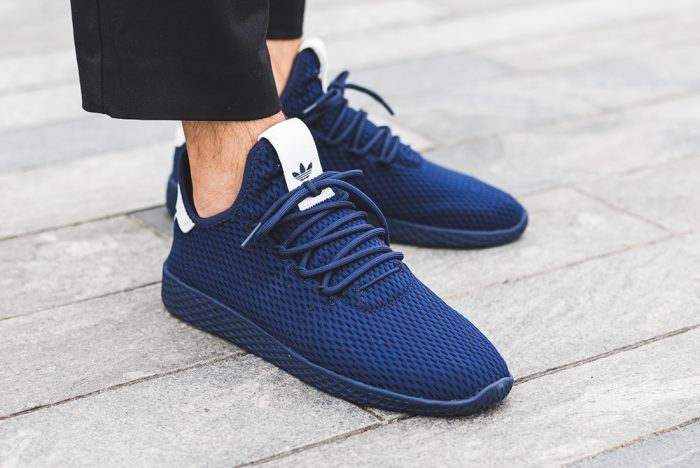 1091e6268da0c On-foot  Pharrell s New adidas Tennis Hu Collection – Sneaker Freaker