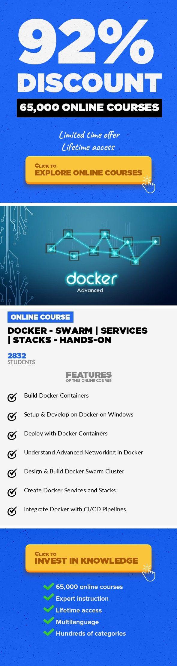Docker - SWARM   SERVICES   STACKS - Hands-on IT Certification, IT ...