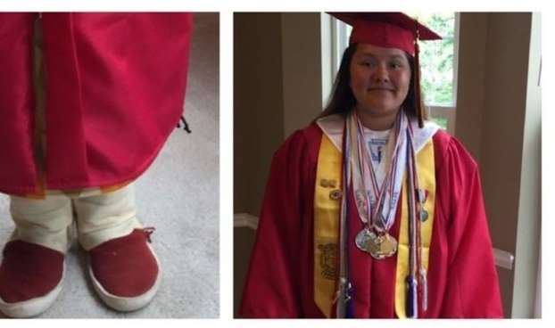 This Girl Fought Her School's Ban on Wearing Traditional Navajo Moccasins at Gra... - Change.org