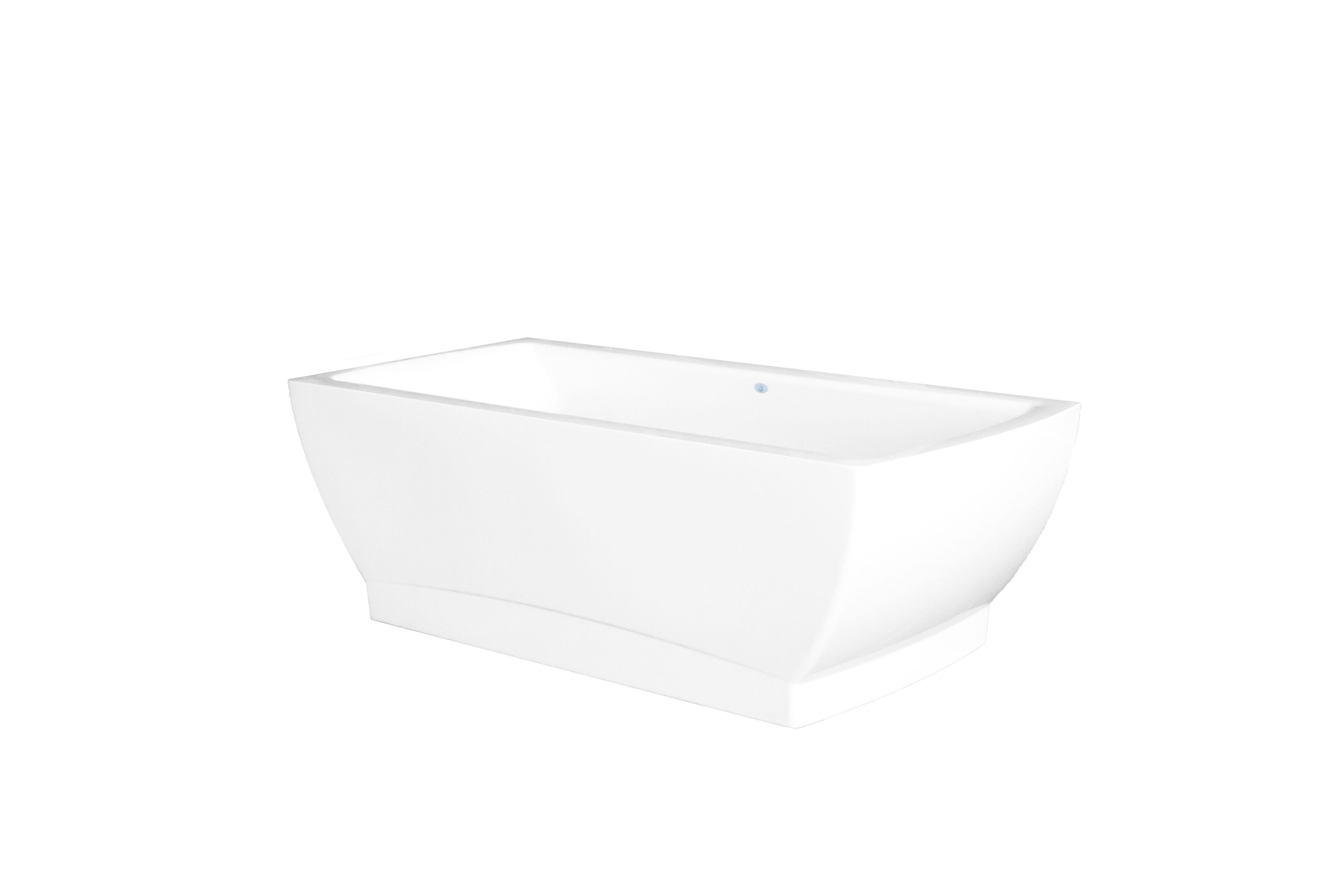 Modern, freestanding bathtub by Jetta Corporation. J70 Solstice and ...
