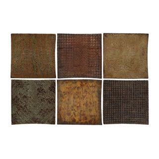 Check out the Uttermost 13320 Concaved Squares Wall Art Set of 6 priced at $248.60 at Homeclick.com.