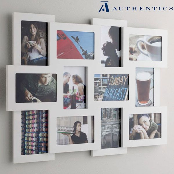 Multi Frame Wall Art studio 12 multi frame - white | rame foto | pinterest | house