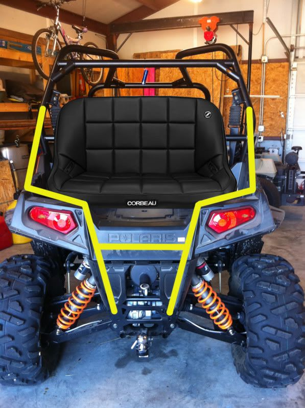 Incredible Rear Seat Mod Polaris Rzr Forum Rzr Forums Net Rzr Machost Co Dining Chair Design Ideas Machostcouk