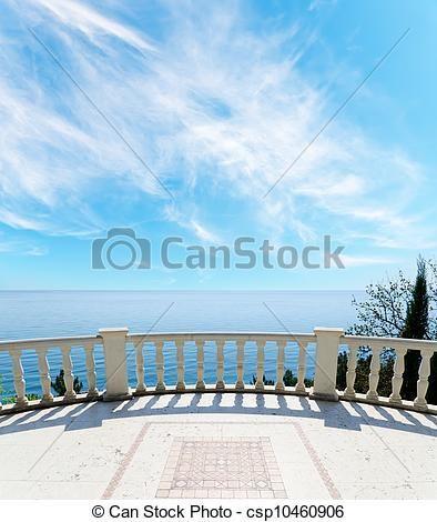 ストックフォト - 光景, 海, バルコニー - ストック画像, 画像, ロイヤリティーフリーフォト, ストックフォト, ストックフォトグラフィー, 写真, グラフィック, グラフィックス: