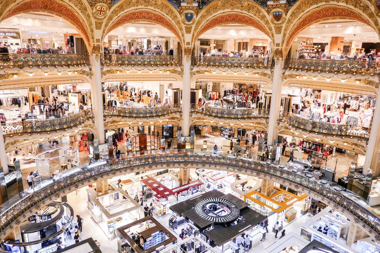 5 Things To Do At Galeries Lafayette In Paris Other Than Shopping Galeries Lafayette Paris Shopping Paris