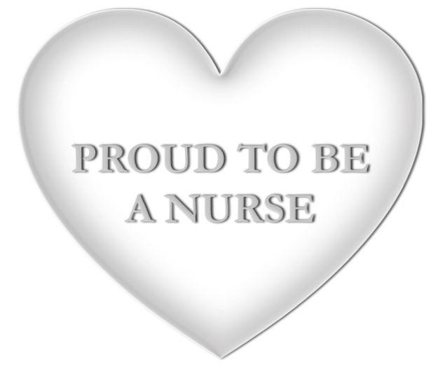 Nurse Symbols The White Heart Universal Symbol Of Nursing