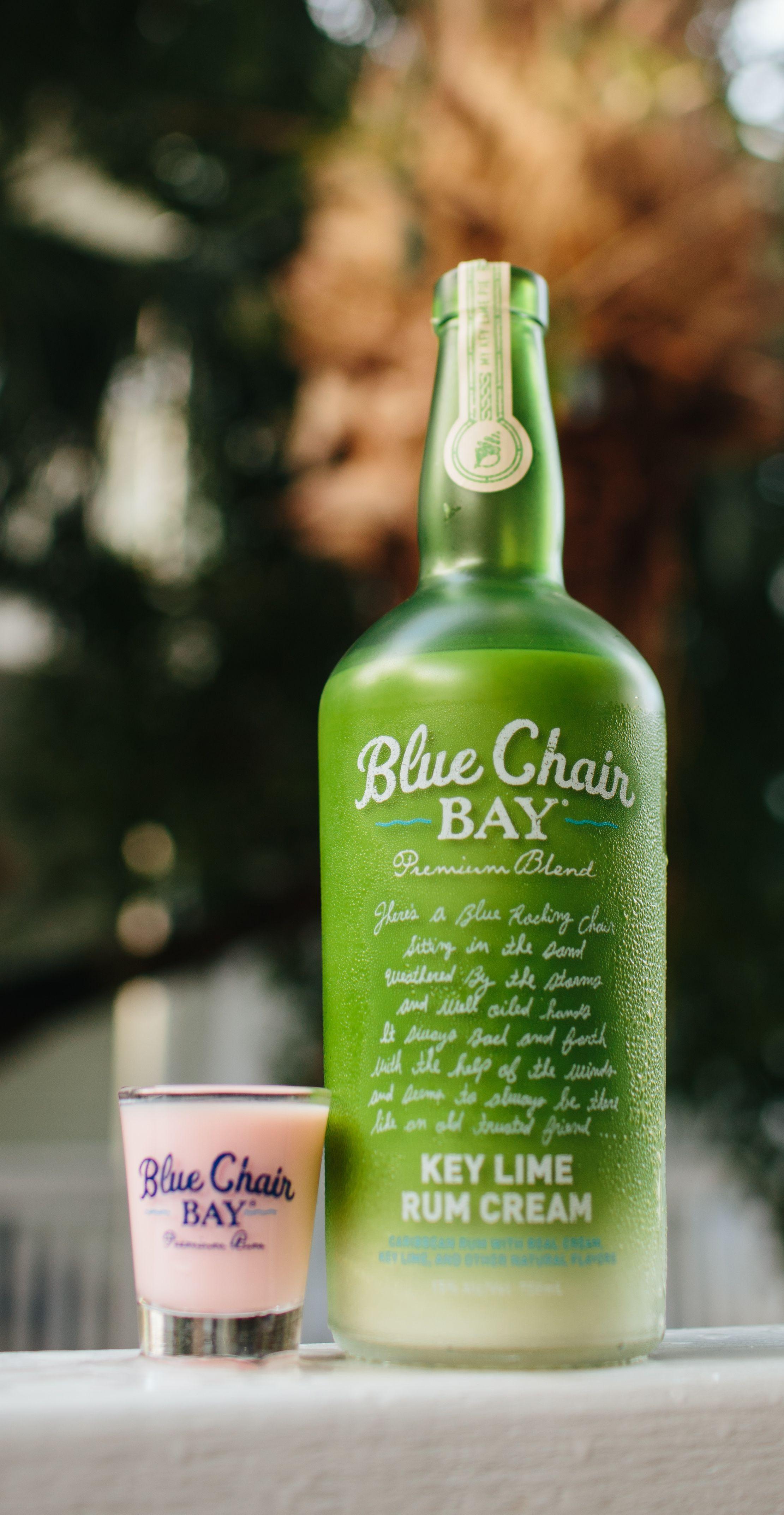 7fbf371b664ea0 Blue Chair Bay Key Lime Rum Cream + .75 oz. crème de noyaux + drops of  grenadine    Shake and serve.