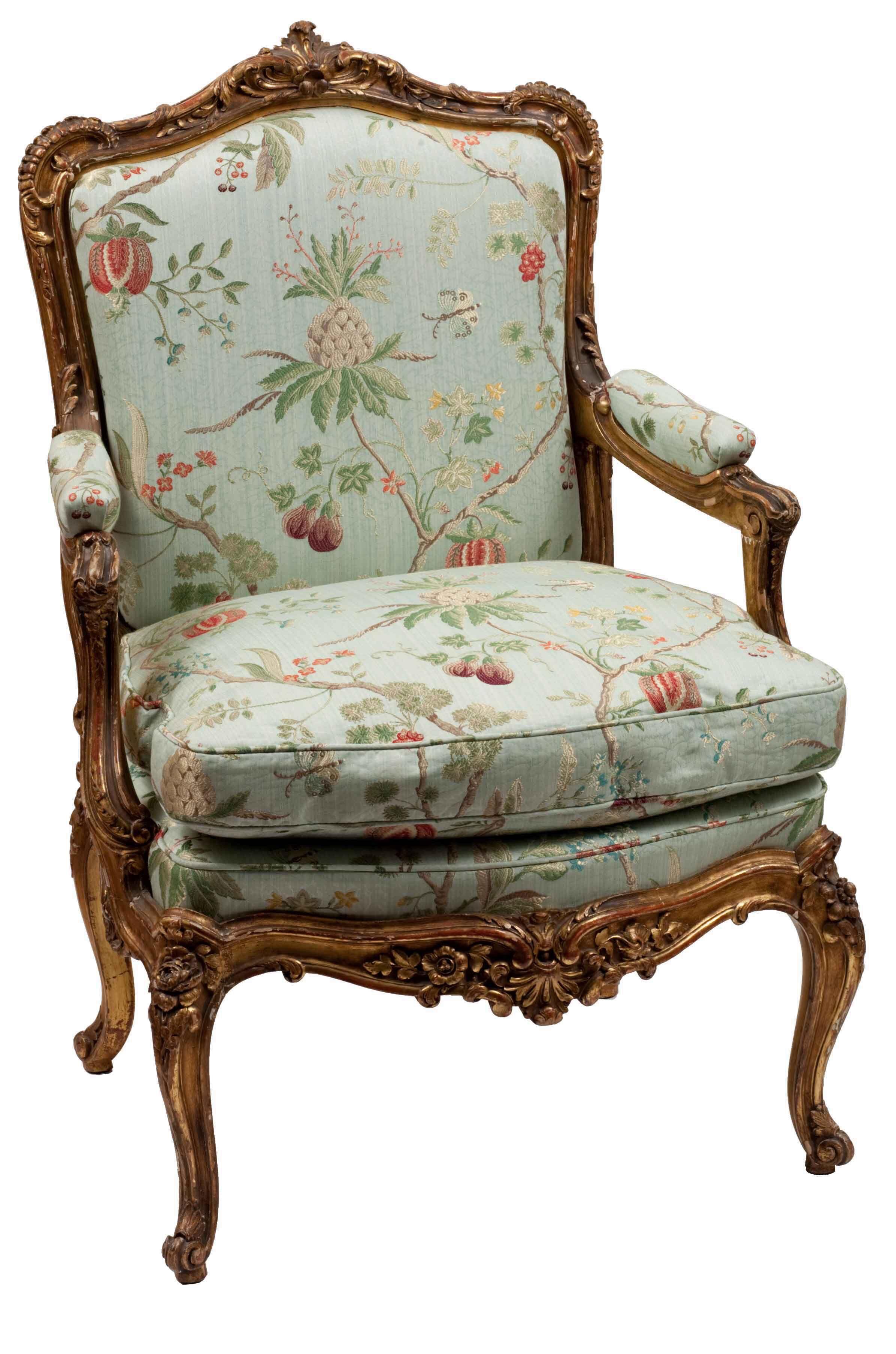 Sill n louis xv muebles pinterest sillones sillas y - Sillones de epoca ...
