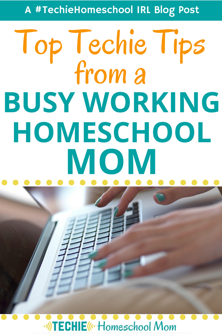 Top Techie Tips from a Busy Working Homeschool Mom is part of Homeschool mom, Homeschool, Homeschool blogs, Homeschool encouragement, Homeschool help, Homeschool resources - Hone your working homeschool mom superpowers with these techie tips to help you manage your family's home education while you work