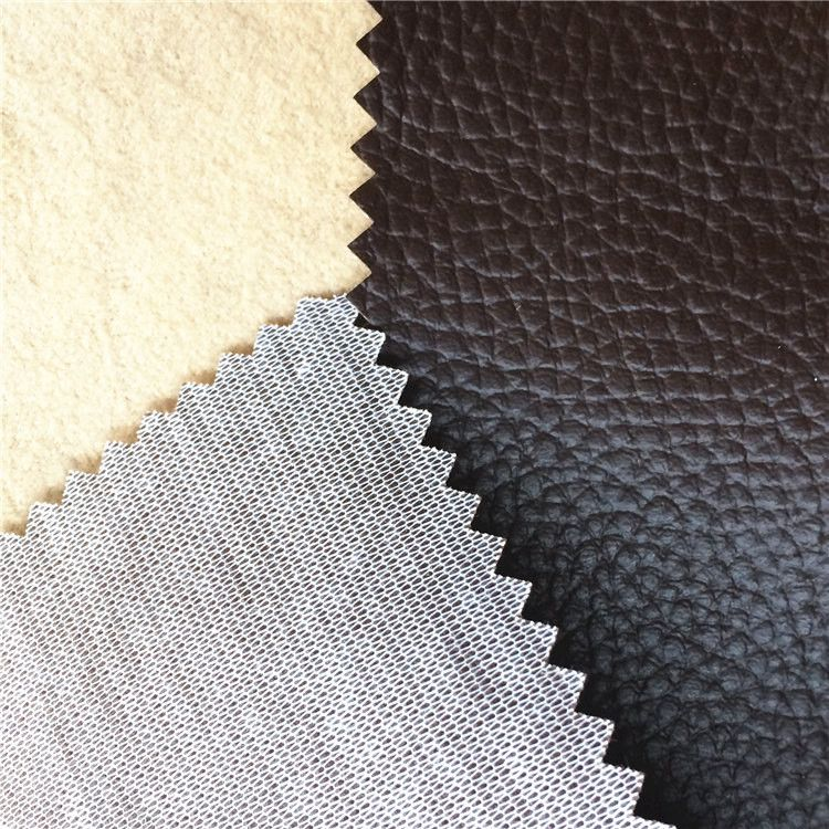 Bronzing Suede Fabric Coated Tc Cloth With Suede Laminated Bonded