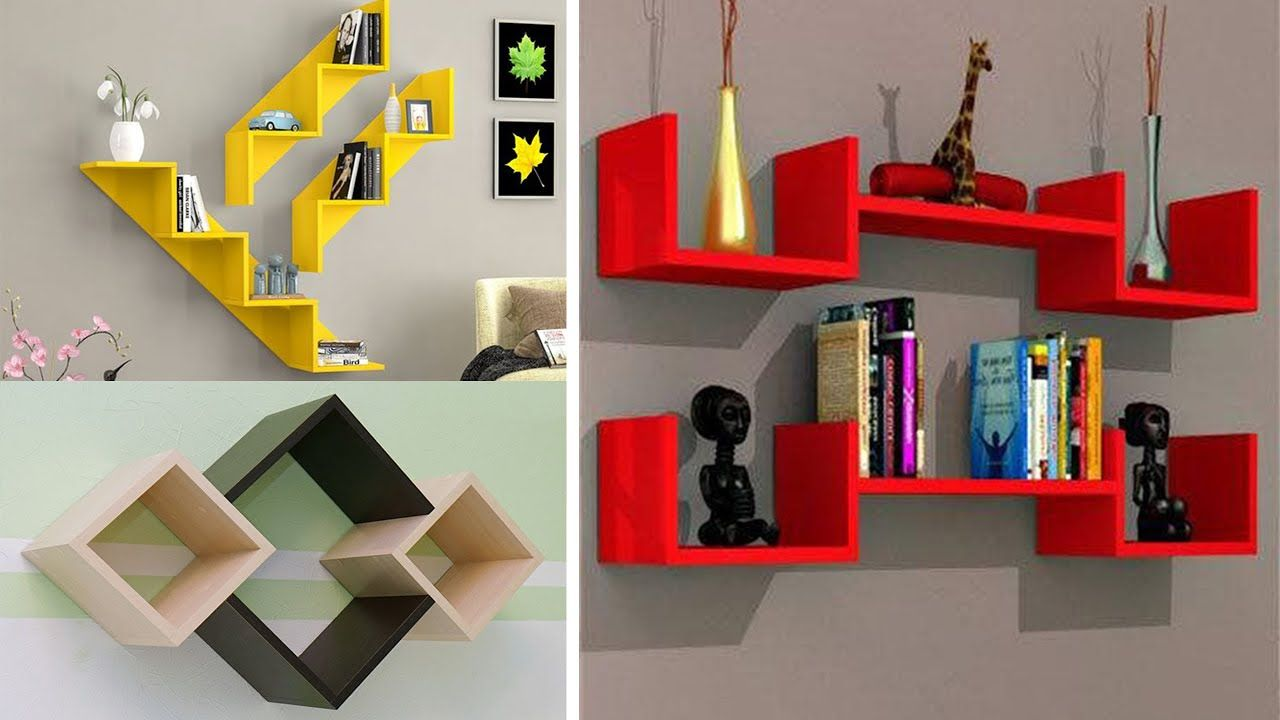DIY floating wall shelves | Wall shelves design, Wall shelves, Floating wall  shelves