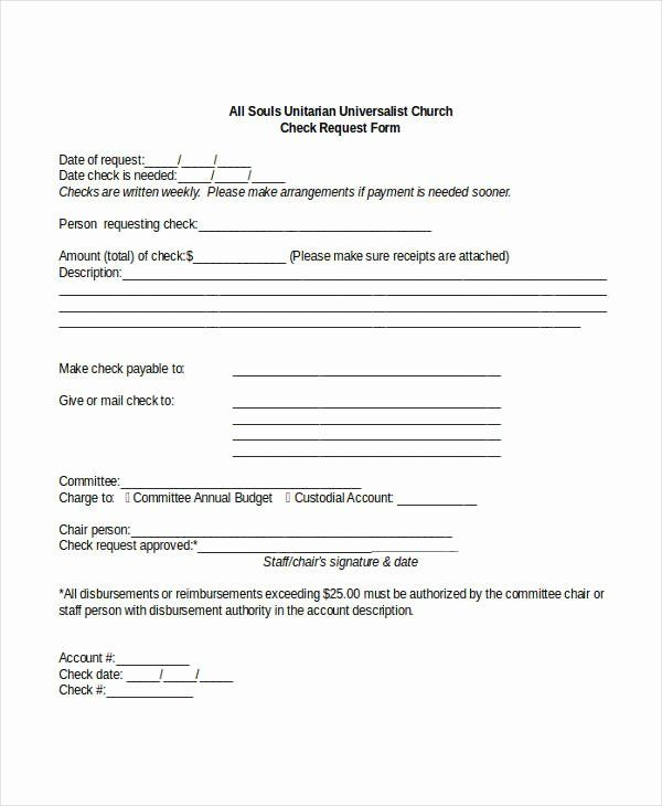 Accounts Payable Check Request Form Best Of Check Request
