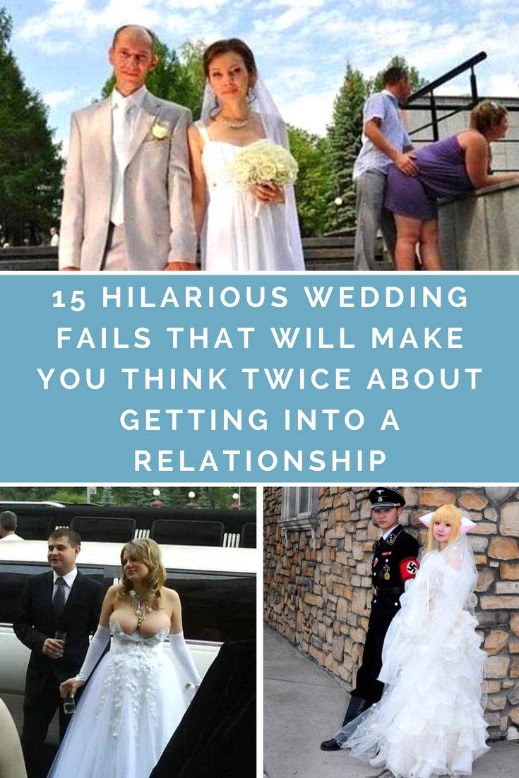 15 Hilarious Wedding Fails That Will Make You Think Twice