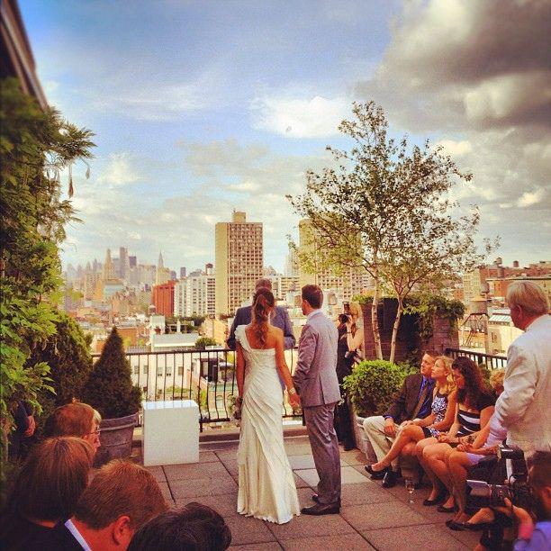 Emgl Emily Gradwells Amazing Rooftop Nyc Wedding Rooftop7 Best