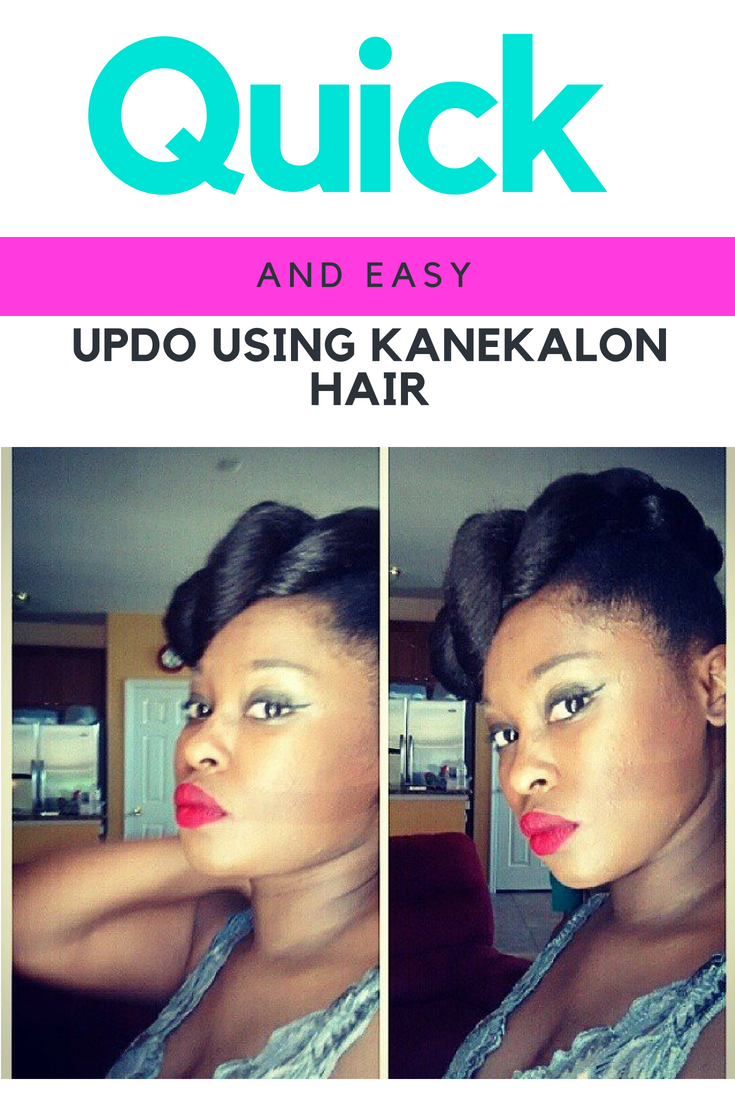 quick easy styles under minutes using kanekalon jumbo braid