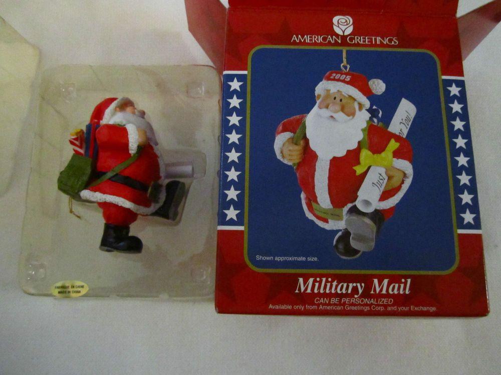 Santas military mail ornament operation santa american greetings santas military mail ornament operation santa american greetings 2005 m4hsunfo