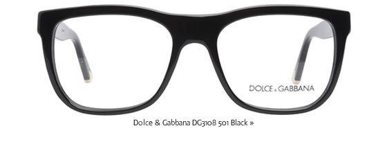 dolce gabbana glasses dg3108 501 black - Dolce And Gabbana Eyeglass Frames