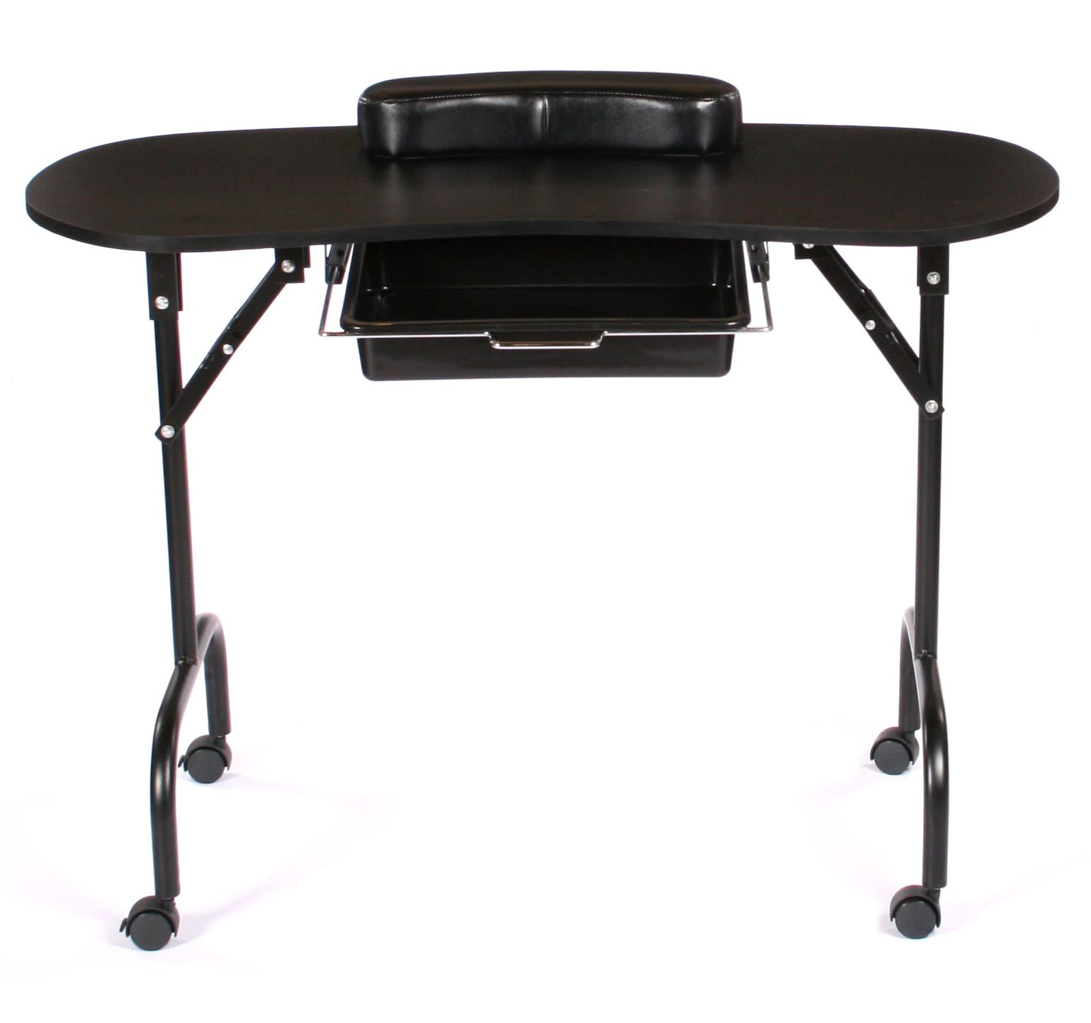 Urbanity Black Portable Manicure Table Manicure table