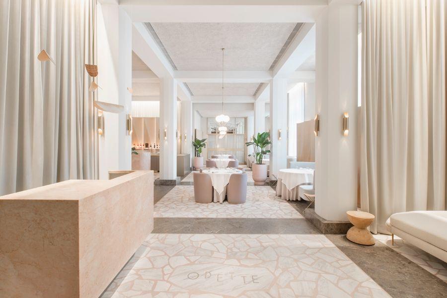Universal Design Studio's Odette restaurant extends collection of Singapore National Art Gallery - News - Frameweb