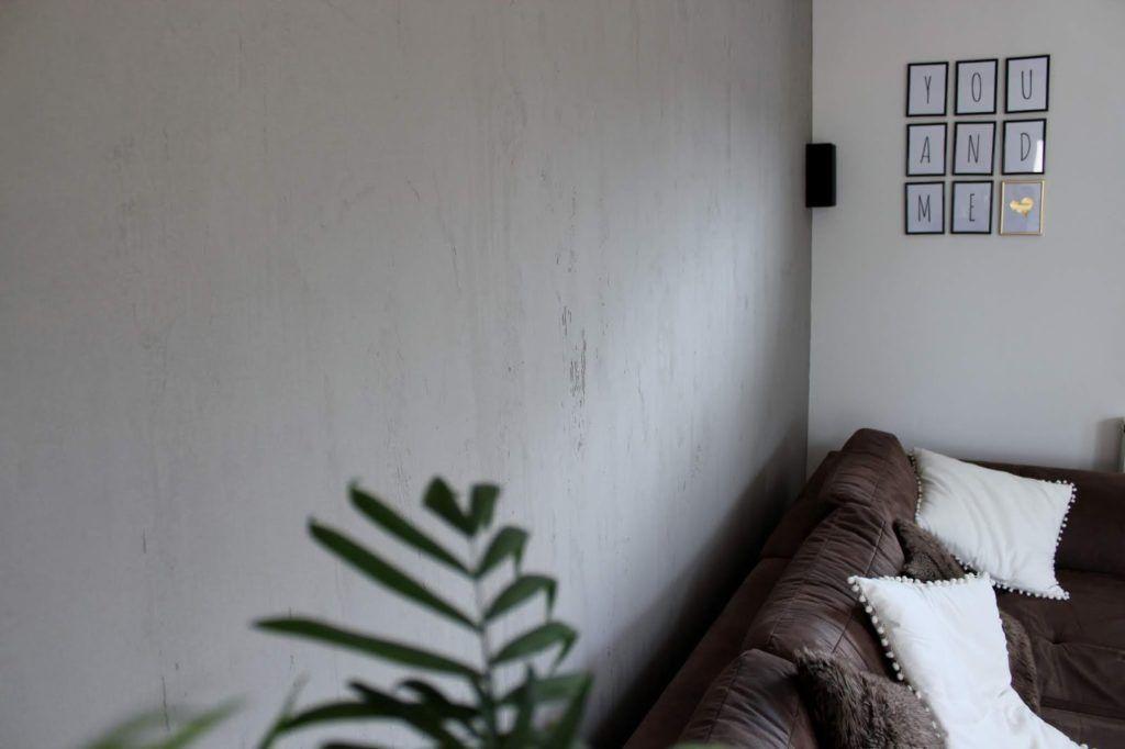 Diy Wandgestaltung In Beton Optik Kein Problem Mit Dieser Anleitung Klappt Es Ganz Leicht In 2020 Diy Wandgestaltung Wandgestaltung Schoner Wohnen Farbe