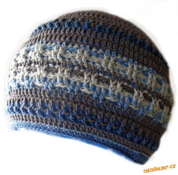 Pánská čepice | Háčkované, pletené čepičky | Pinterest