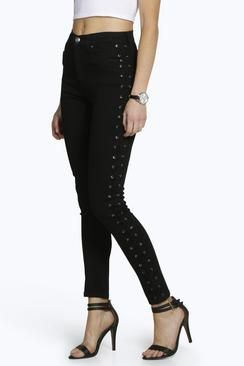 96cff704b3b Skinny jeans are every supermodel s secret weapon. Streamline your  silhouette with spray on jeans from boohoo