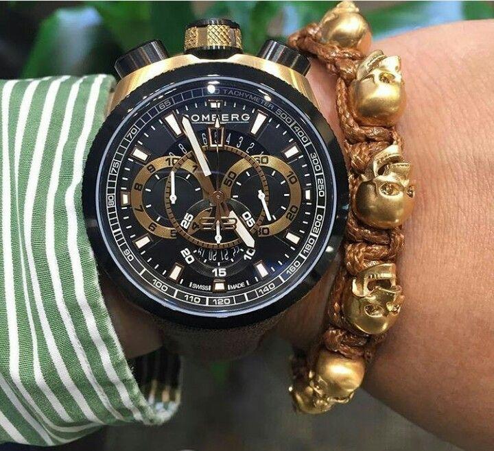 89e4ec8f0188 Bomberg Bolt 68 Skully Bracelet Relojes Hombre