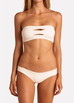 BOYS + ARROWS SHELL ABETTING AVA BANDEAU TOP  SWIM Separates