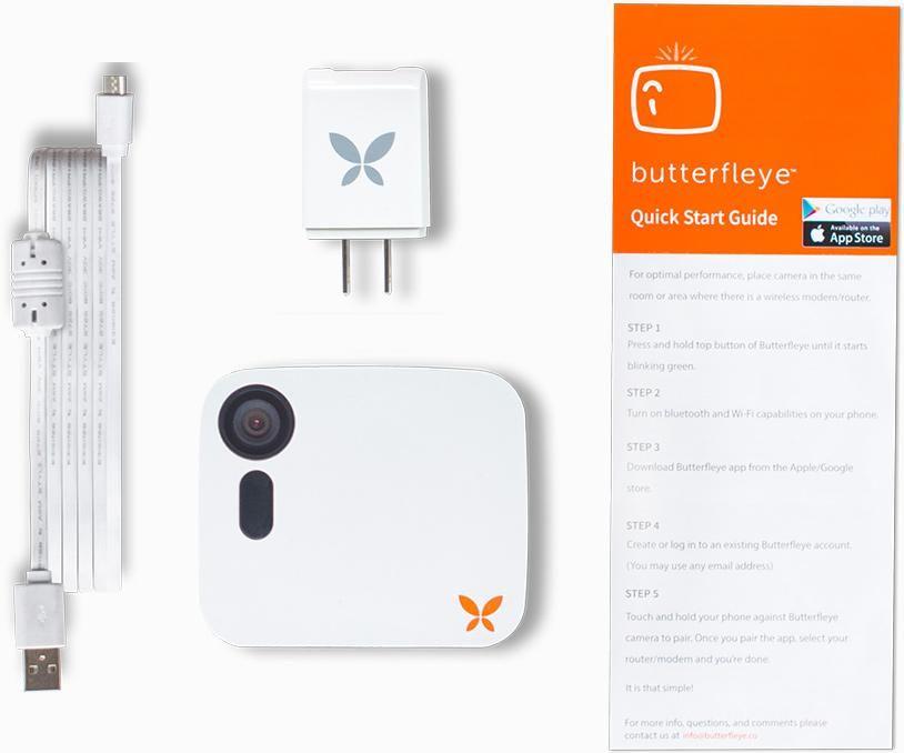 Ooma Butterfleye Wireless Smart Security Cameras Smart Security Cameras Security Camera Video Security