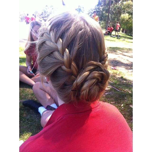 #prom #hair #beautiful #camillelavie #pretty #prom2k15 #hairstyle #promhair