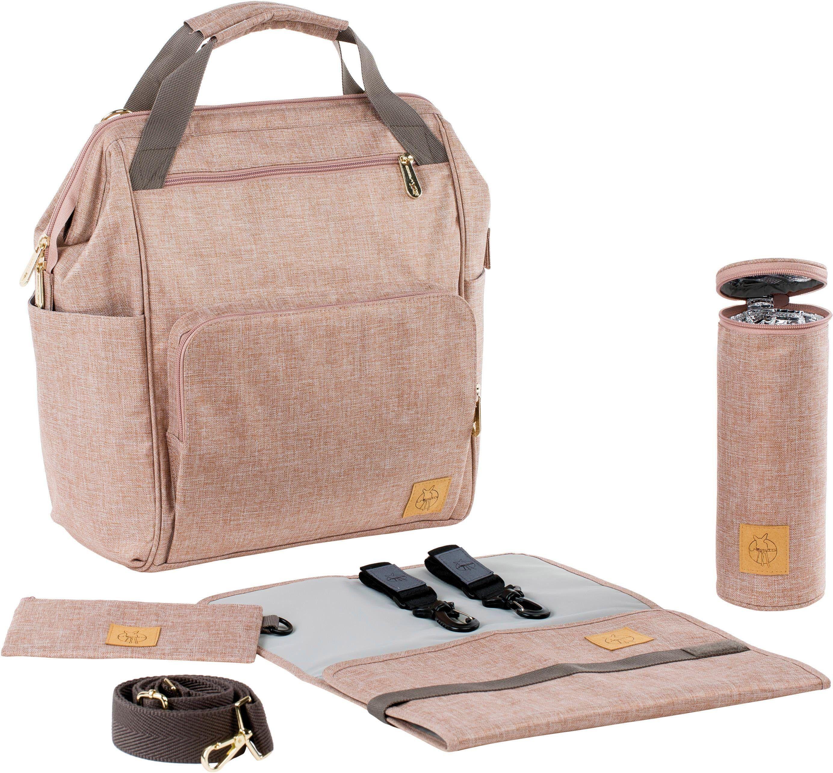 Wickeltaschen Babytasche Wickelrucksack Windel Rucksack Pflegetasche USB+Haken