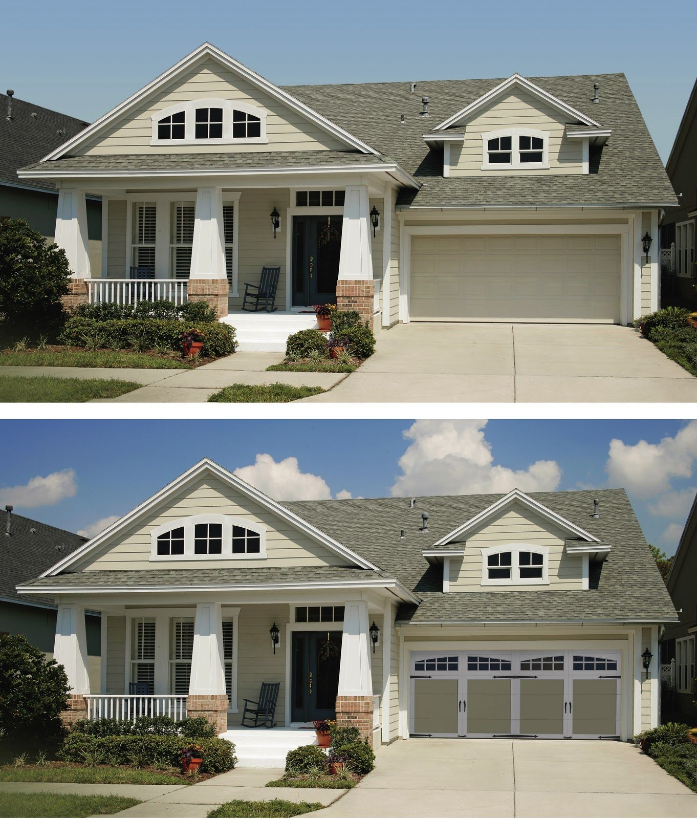 Curb Appeal Ideas: Curb Appeal Before And After