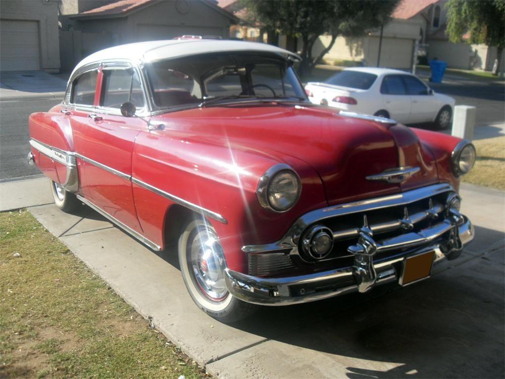 1953 Chevrolet Bel Air 4 Door Sedan Barrett Jackson Auction Company Chevrolet Bel Air Chevy Bel Air Chevy