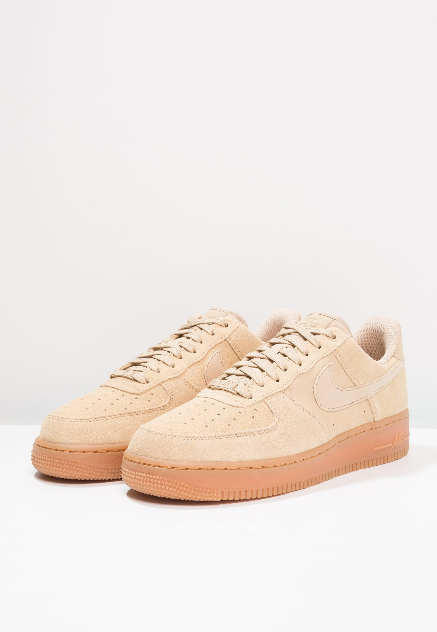 AIR FORCE 1 07 LV8 SUEDE - Joggesko - mushroom/medium brown ...
