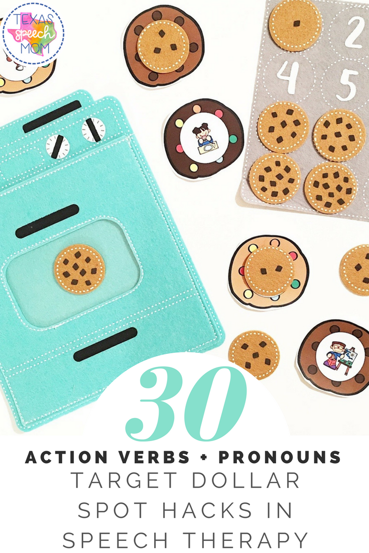 This Sweet Speech Cookie Unit Is A Perfect Treat For Valentines Day Included Are 30 Action Ve Action Verbs Language Activities Language Development Activities [ 1102 x 735 Pixel ]